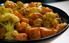 cauliflower,sweet potatoes,turmeric,easy recipe,nutrition