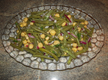 Nutrition-string beans-chick peas-health-easy recipes