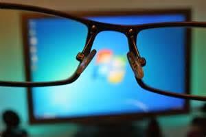 Eyeglass screens