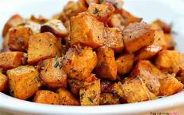 Power sweet potatoes